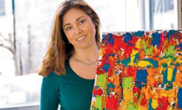 Exhibición. Ana Pérez Grasano pintará en el hall de Sofitel Cardales.