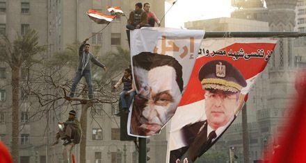 Un millón de egipcios reclamó el alejamiento inmediato de Mubarak