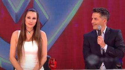 En silencio. Pampita decidió no emitir palabra sobre el escándalo entre Wanda Nara y la China Suárez. (Imagen de TV)