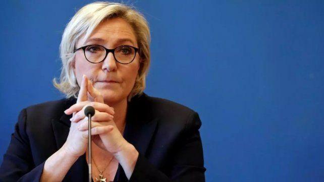 Marine Le Pen y su partido Marcha Nacional sufrieron un neto retroceso.