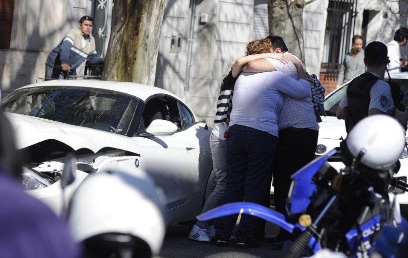 Martín Paz fue baleado la tarde del 8 de septiembre en una flamante cupé BMW y delante de su esposa.