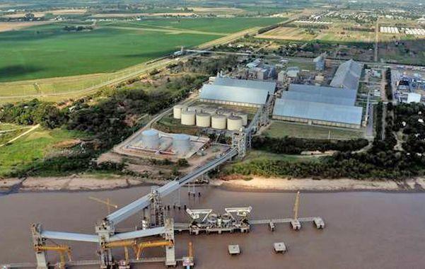 Gigantes. Las plantas procesadoras de soja de la región están entre las más grandes del mundo.