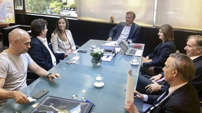 Los integrantes de la mesa nacional de Juntos por el Cambio siguen de cerca la crisis del oficialismo