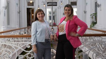 Clara Altamirano y Graciela Vargas Landriel
