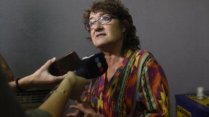La secretaria general de Ctera y Amsafé, Sonia Alesso.