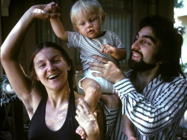 La foto del actor Leonardo DiCaprio cuando era un bebé provocó todo tipo de comentarios.