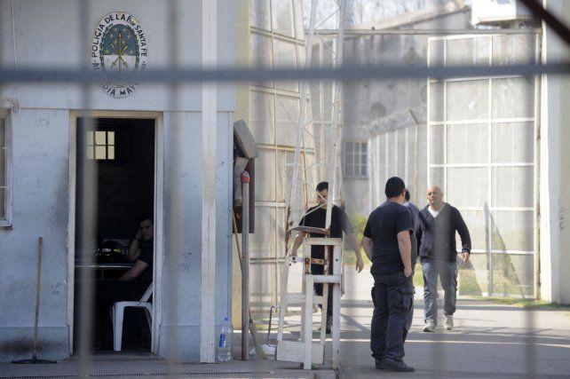 Unidad 6. La vieja alcaidía de calle Francia donde están presos los acusados.