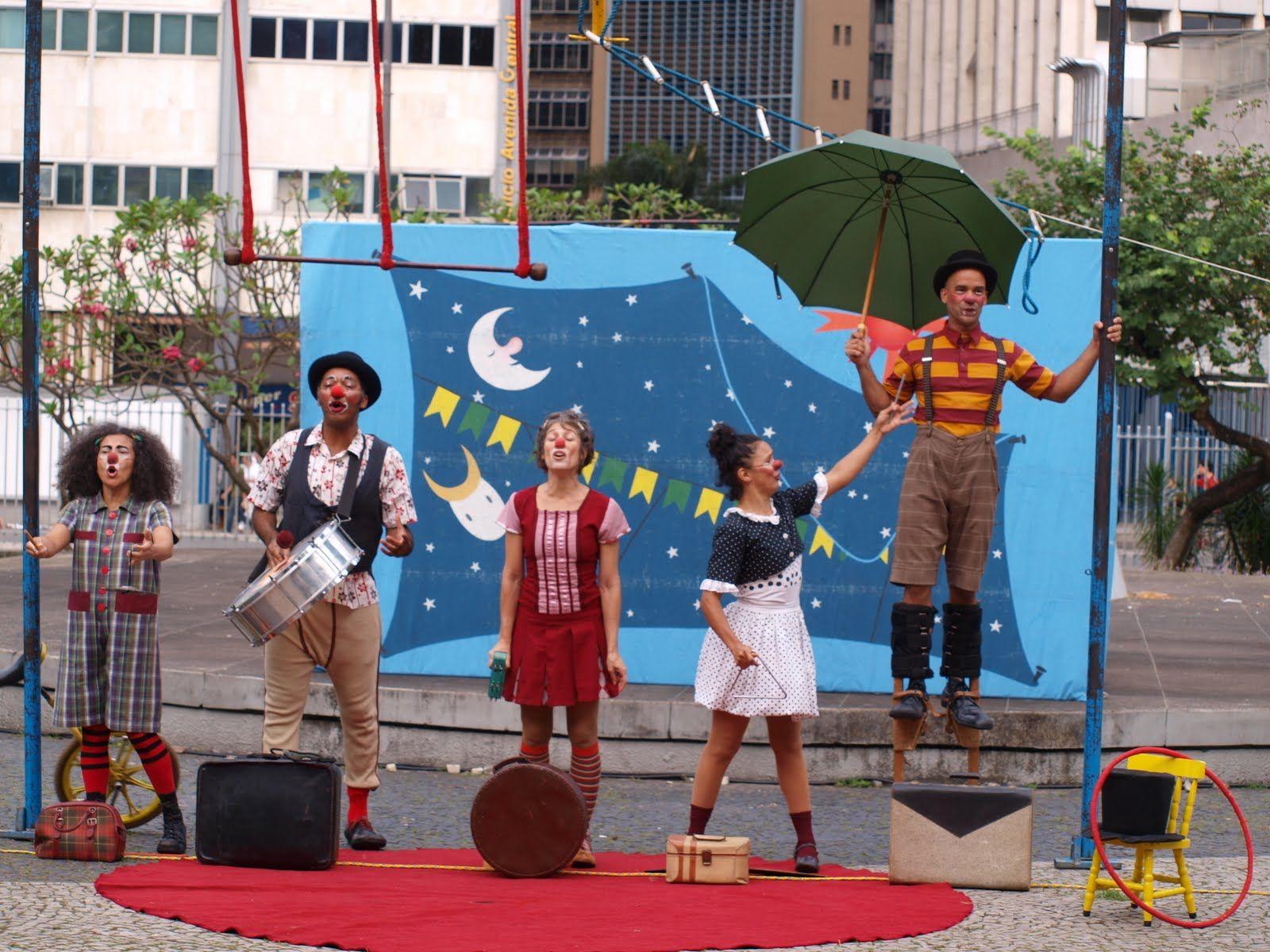 Lo mejor del Circo-Teatro de Brasil en Buenos Aires