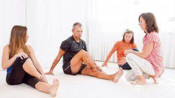 En Rosario hay tres instructoras que trabajan a partir del legado de Bertherat.