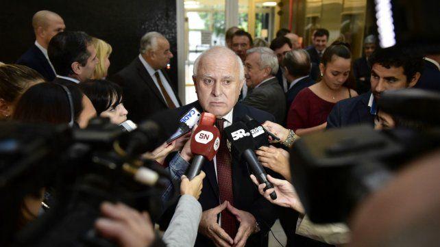 El gobernador volvió a condicionar su apoyo al nuevo pacto tributario que impulsa Nación.