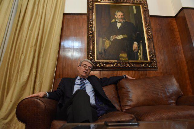 El ministro de Economía de la provincia