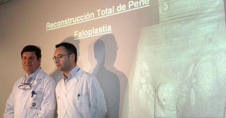 Médicos españoles reconstruyen el pene de un senegalés mutilado en la guerra