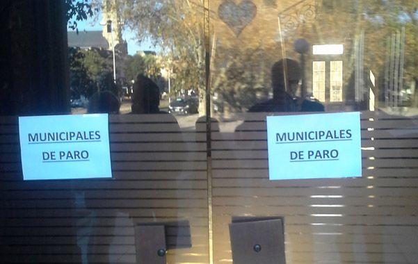 Otro día. Los municipales pararon desde el martes por tiempo indeterminado.