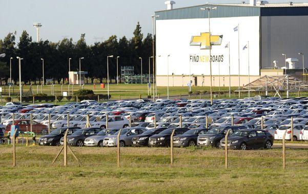 GM aprovechó la parada de enero para avanzar en la construcción de infraestructura para el proyecto. (S.Salinas)