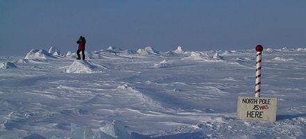 El Polo Norte podría quedarse por primera vez sin hielo en el verano