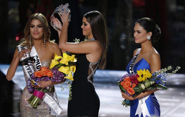 Bochornoso. La colombiana Ariadna Gutiérrez se queda sin la corona