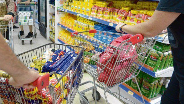 Los precios de supermercados que releva el Centro de Estudios Scalabrini Ortiz (Ceso) subieron 2