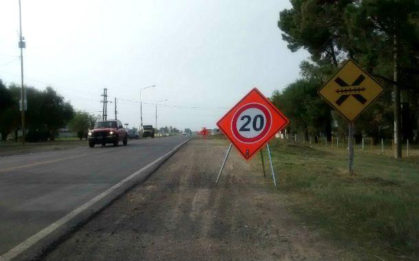 En arreglo. Las obras en la 93 son parte de un plan de reparación de rutas.