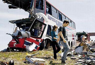 Recuerdan a alumnos y docentes del colegio Ecos a tres años del accidente