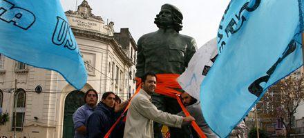 El Che y su monumento