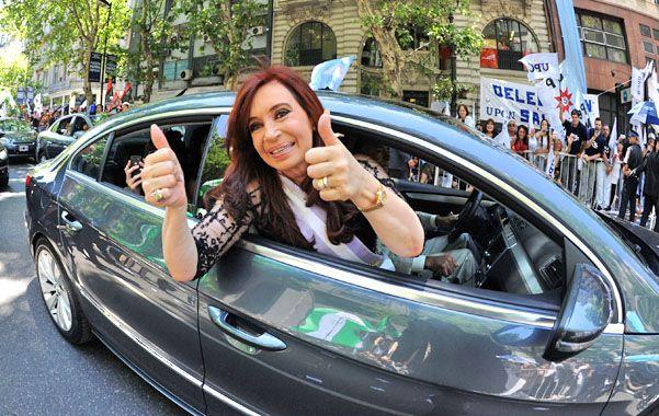 La vuelta. Cristina confirmó que viajará a Cuba y Venezuela a fin de mes.