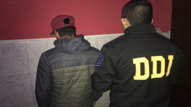 Acusado. El detenido en la tarde de ayer en el distrito de José C. Paz es un joven de 18 años.
