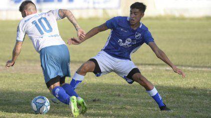 Volvió a marcar: Joaquín Sosa anotó el tanto del albo ante Sportivo Barracas y en la fecha pasada hizo lo propio ante Puerto Nuevo.