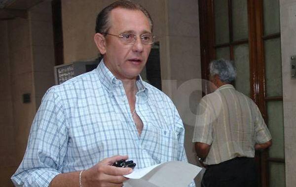 El titular sabalero Germán Lerche. Su abogado anunció que apelará.
