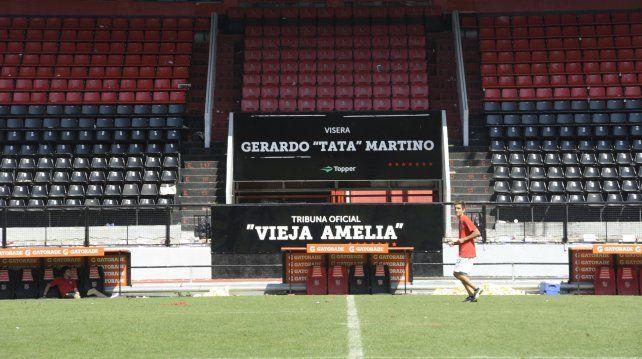 Al aire libre. La asamblea será el próximo sábado en la visera Tata Martino.
