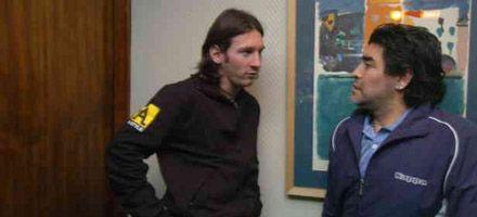 Messi en Rosario: Si a Diego le va bien, a los argentinos también nos irá bien