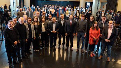 La cúpula de JxC y sus candidatos para noviembre.