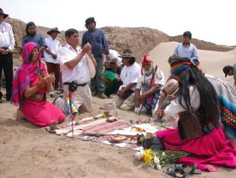 La Pachamama. Ancestrales pueblos resguardaron durante siglos y conquistas el respeto por la Madre Tierra. (Foto archivo)