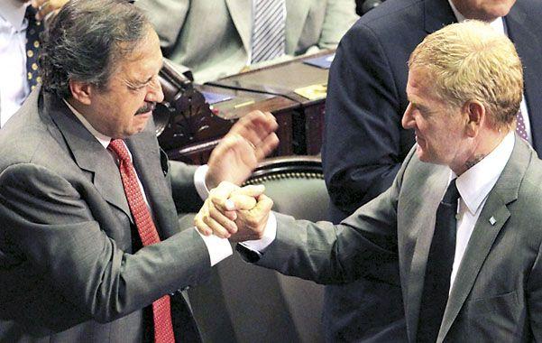 No va más. La alianza entre Alfonsín y De Narváez no se reeditará en 2013.