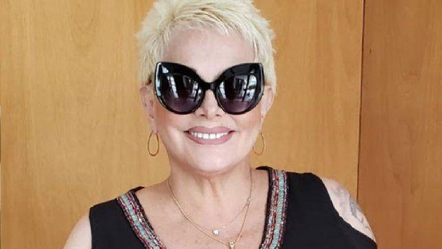 Carmen Barbieri, con coronavirus, fue internada por una neumonía bilateral