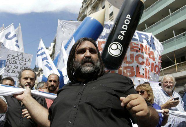 El sindicalista se quejó de las políticas de ajuste que lleva adelante el gobierno de Cambiemos.