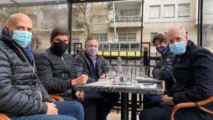 Dirigentes radicales del NEO se reunieron en Capital Federal con Martín Lousteau y Horacio Rodríguez Larreta.