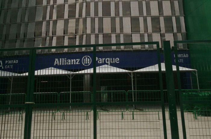 El estadio Allianz Parque albergará el partido mañana a las 21.45.