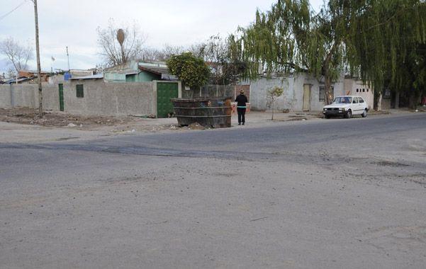 Ayacucho y Centeno. Aquí fue asesinado Nicolás López