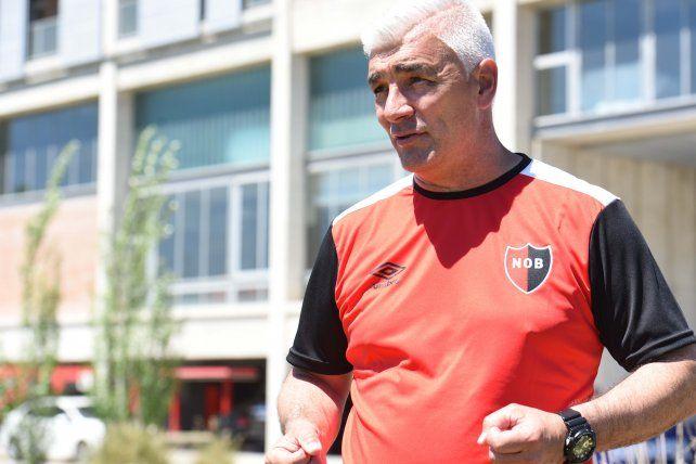 Omar de Felippe habló de la importancia que tiene el clásico ante Central por la Copa Argentina.