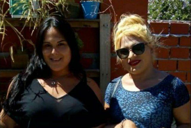 Natalia Maldonado (derecha) fue asesinada en una balacera perpetrada en Granadero Baigorria.