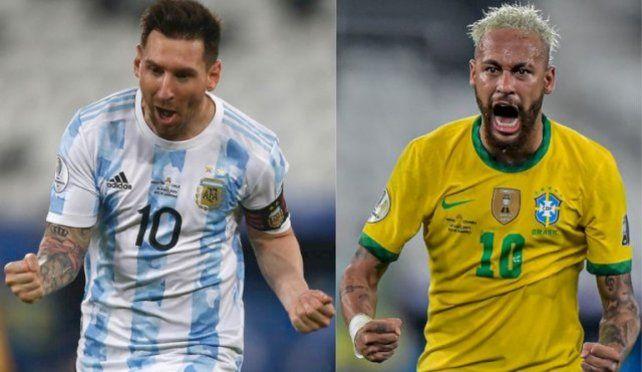El esperado duelo entre Messi y Neymar tendrá público en el estado Maracaná.