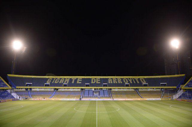 El estadio Gigante de Arroyito.
