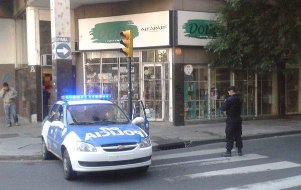 En el centro. España y Santa Fe fue escenario de un tiroteo mañanero.