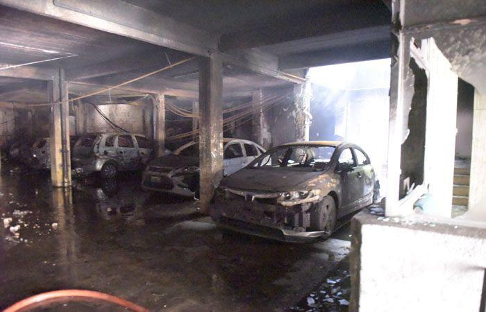El incendio fatal se desató la mañana del 3 de febrero. (Foto: Sebastián Suárez Meccia / La Capital)