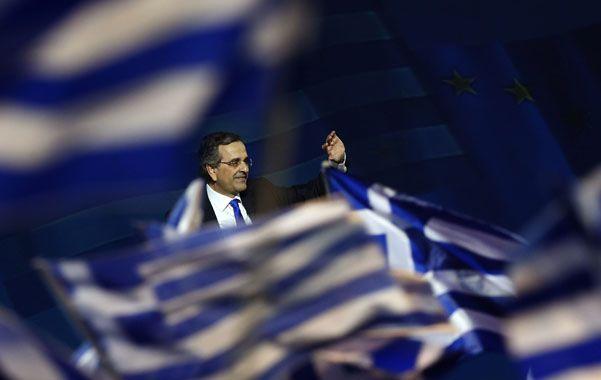 El premier y líder de Nueva Democracia (ND)