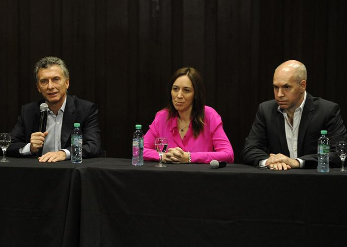 Macri dio su primera conferencia como presidente electo.