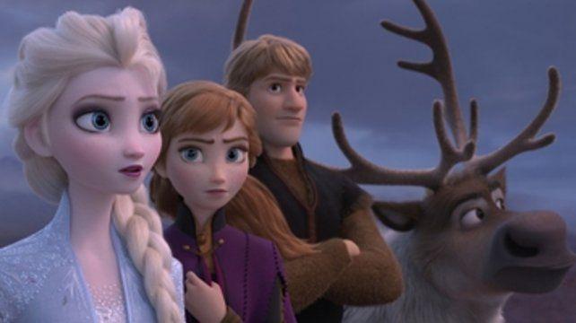 Protagonistas. Las hermanas Elsa y Anna