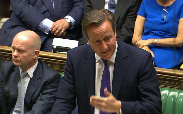 Adelante. Cameron logró el apoyo de 524 diputados