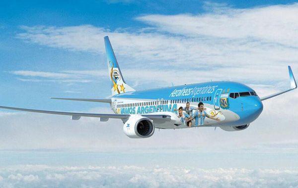 Cómo será el avión que trasladará a la Argentina al Mundial de Brasil 2014