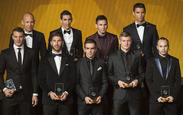Hay equipo. Di María y Messi